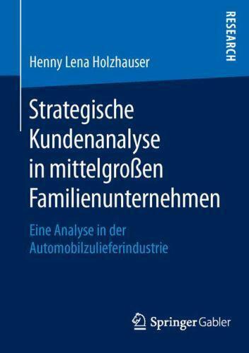 Strategische Kundenanalyse Holzhauser